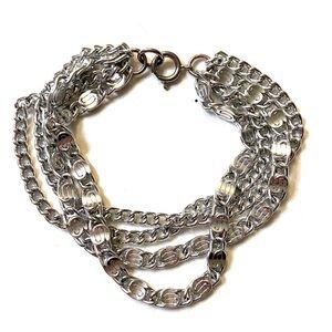 Greek Key chain Bracelet Vintage